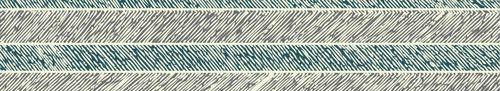 Blue herringbone snippet